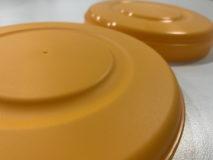 プラスチックケースの蓋への表面加工